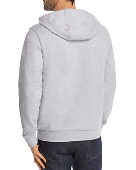 Lacoste - Long-Sleeve French Terry Graphic Hooded Sweatshirt