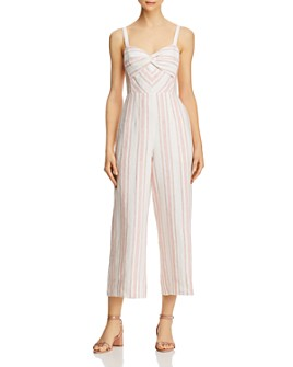 Rebecca Taylor - Striped Sweetheart Jumpsuit