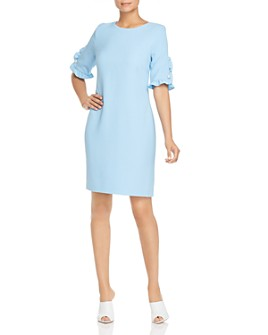 KARL LAGERFELD Paris - Ruffle Sleeve Dress