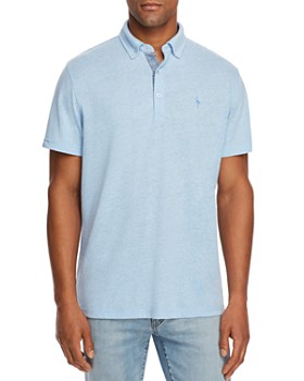 TailorByrd - Lauren Fancy Classic Fit Button-Down Polo Shirt