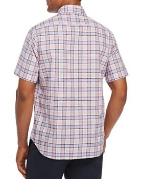 TailorByrd - Nam Short-Sleeve Plaid Classic Fit Shirt