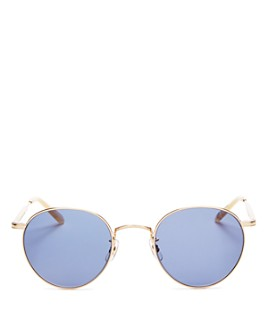 GARRETT LEIGHT - Men's Wilson Round Sunglasses, 49mm