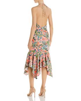 Aidan by Aidan Mattox - Floral Halter Dress