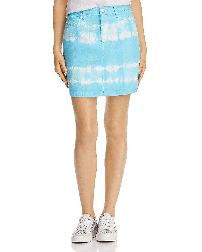 BLANKNYC - Tie-Dye Denim Skirt - 100% Exclusive