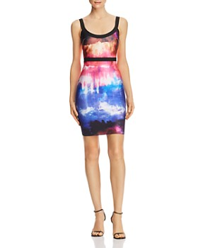WOW Couture - Tie-Dye Body-Con Dress - 100% Exclusive