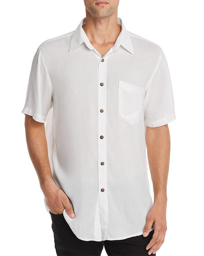 The People Vs. Stevie Short-sleeve Regular Fit Shirt In White