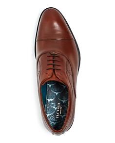 Ted Baker - Men's Fuamin Leather Cap-Toe Oxfords