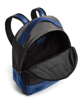 Armani - Color-Block Nylon & Leather Backpack