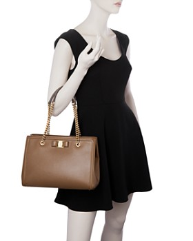 Salvatore Ferragamo - Melike Medium Leather Tote