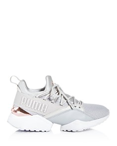 PUMA - Women's Muse Maia Low-Top Sneakers
