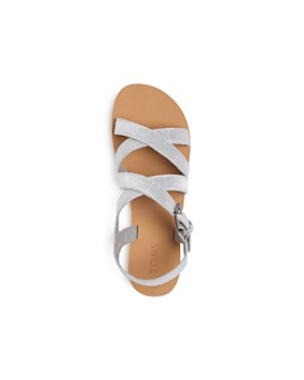 TOMS - Girls' Sicily Crisscross Sandals - Toddler, Little Kid, Big Kid