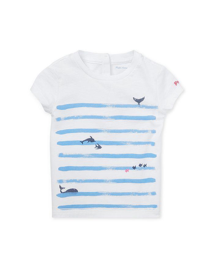 Ralph Lauren - Girls' Stripe & Graphic Tee - Baby