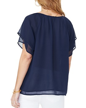NYDJ - Short-Sleeve Layered Top