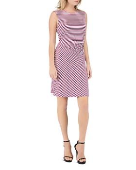 B Collection by Bobeau - Estelle Sleeveless Striped Sheath Dress