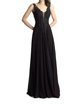 Basix - Embellished Bodice Gown
