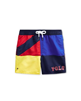 f86d2fe735bc4 Ralph Lauren - Boys' Captiva Color-Block Swim Shorts - Baby ...