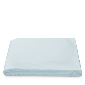 Matouk Luca Hemstitch Percale Fitted Sheet, Queen