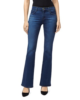 J Brand -  Sallie Mid-Rise Bootcut Jeans in Arcade