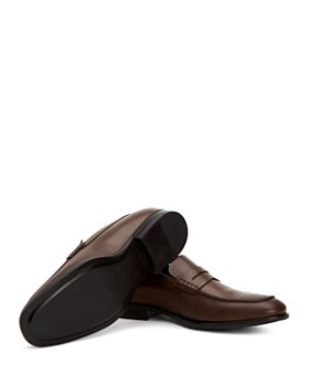 Aquatalia - Men's Adamo Weatherproof Leather Penny Loafers