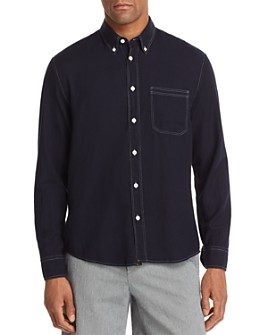 Billy Reid - Tuscumbia Contrast-Stitched Regular Fit Button-Down Shirt