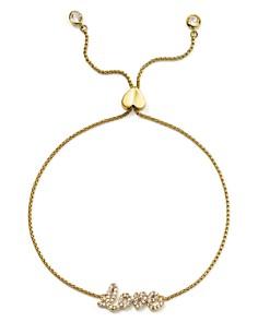 kate spade new york - Pavé Love Adjustable Bracelet