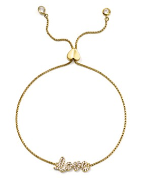 kate spade new york - Pavé Love Adjustable Bracelet