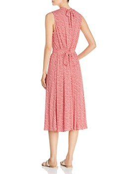 Leota - Mindy Shirred Midi Dress