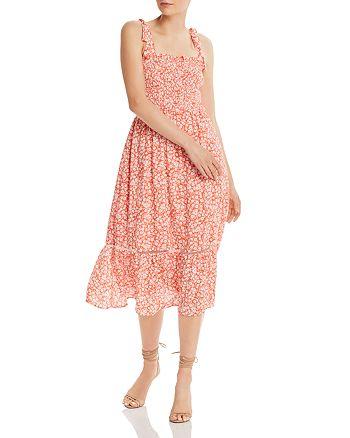 Lost and Wander - Selena Floral-Print Midi Dress