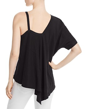 Wilt - Hybrid Cold-Shoulder Top