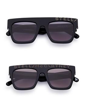 Stella McCartney - Mum-and-Me Embellished Flat Top Square Sunglasses Set