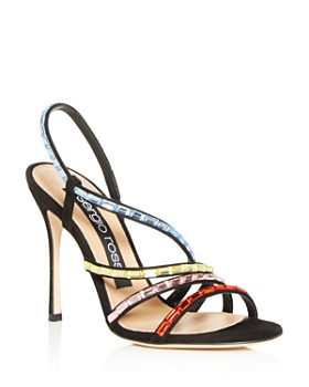Sergio Rossi - Women's Divine Strappy High-Heel Sandals