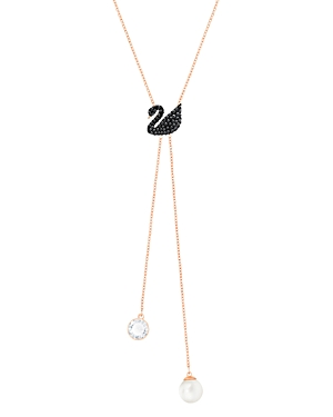 Swarovski Iconic Swan Double Y Necklace, 14.9