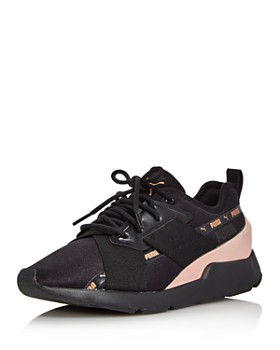 85418796aec7 PUMA - Women's Muse-2 Lace-Up Sneakers ...