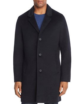 Cole Haan - Single-Breasted Top Coat