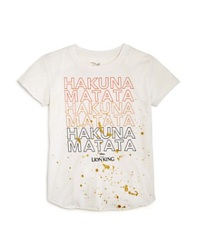 CHASER - Girls' Disney Hakuna Matata Tee, Little Kid, Big Kid - 100% Exclusive