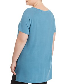 Eileen Fisher Plus - Short-Sleeve Tunic Top