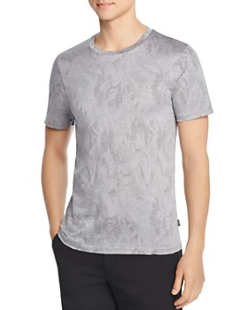 BOSS Hugo Boss - Tessler Abstract-Botanical Jacquard Tee