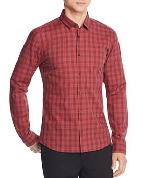 HUGO - Ero3 Plaid Slim Fit Shirt