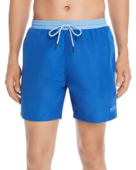 c343c8c0 BOSS Hugo Boss - Color-Block Swim Trunks ...