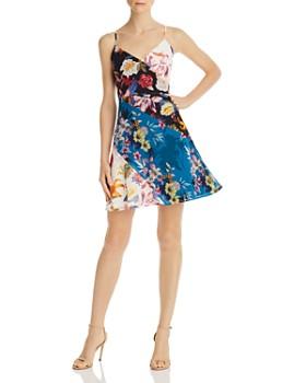 GUESS - Georgiana Mixed Floral Dress