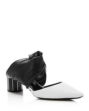 Proenza Schouler Women\\\'s Knotted Block Heel Mules