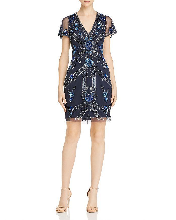 Aidan Mattox - Embellished Cocktail Dress