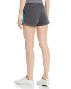 Monrow - Summer Striped Lounge Shorts