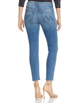 MOTHER - The Looker High-Rise Cropped Skinny Jeans in Hop On Hop Off - 100% Exclusive