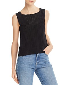 Theory - Crochet Lace Tank