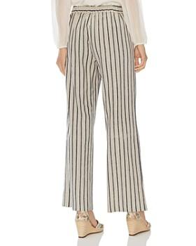 VINCE CAMUTO - Striped Wide-Leg Pants