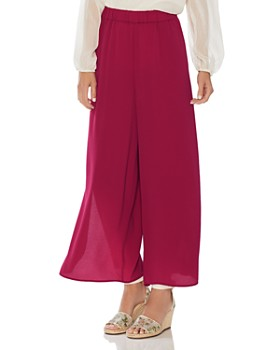 VINCE CAMUTO - Side-Slit Wide-Leg Pants