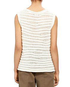 Theory - Striped Knit Tank