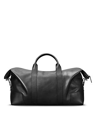 Shinola Large Leather Carryall Duffel Bag-Men