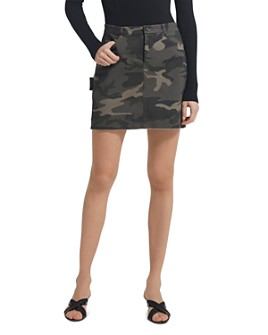ATM Anthony Thomas Melillo - Twill Camo Mini Skirt